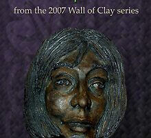 """WALL of CLAY """"On Face"""" by Patricia Anne McCarty-Tamayo"""