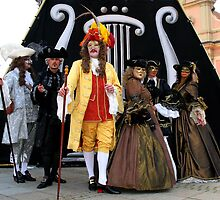 The King and his court by VeniceCarnival