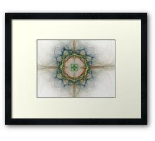 Celtic Cross-Available As Art Prints-Mugs,Cases,Duvets,T Shirts,Stickers,etc Framed Print