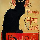 'Tournee du Chat Noir' by Theophile Steinlen (Reproduction) by Roz Abellera Art