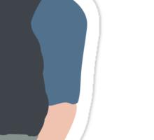 Jack Kelly Newsies Seize the Day Sticker