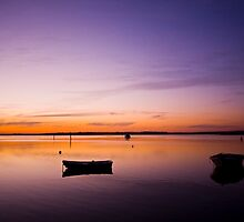 Colours of Swan Bay by Alistair Wilson