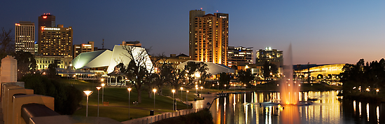 The River Torrens by Ryan Carter