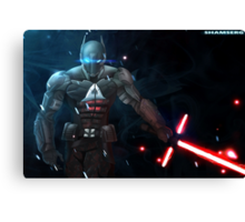 Arkham Knight: The Force Awakens  Canvas Print