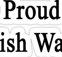 Proud English Warrior  Sticker