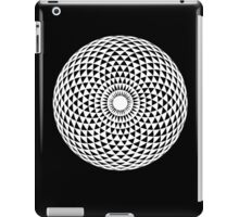 White Geometric eye  iPad Case/Skin