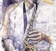 Jazz Muza Saxophon by Yuriy Shevchuk