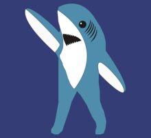 Left Shark Super Bowl Half Time Dancing Shark 2015 by T-Shirt T-Shirt Land