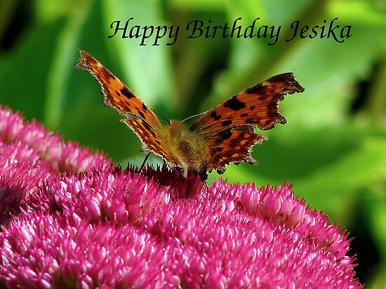 Happy Birthday Jesika by Sharon Perrett