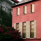 Pink House on Rainbow Row by Benjamin Padgett
