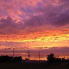 Angry Sky Before Hurrican Ike by rogerlloyd