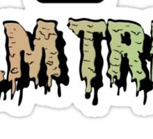 Flatbush Palm Trees - Logo Mashup! Sticker