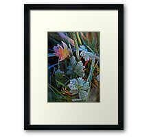 With Icing Framed Print
