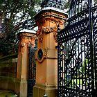 Gates, Sydney Botantic Gardens, Australia by Sandra  Sengstock-Miller