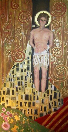Saint Sebastian; 2008 by Kosari