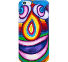 Rainbow Hand Drawn Face iPhone Case/Skin