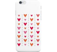 Heart In Line iPhone Case/Skin