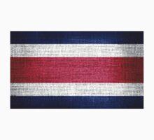 Costa Rica Flag by Nhan Ngo