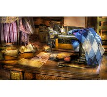 Sewing Machine III Photographic Print