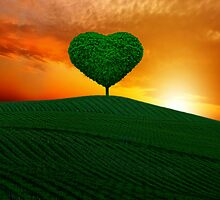 The green heart tree  by chrissiexxx68