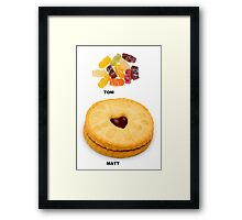The Doctor, Who Needed Food Framed Print