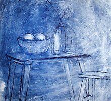 Quiet Room by Gudrun Eckleben