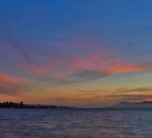 San Francisco Sunset 2 by Gary Rondez