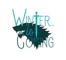 Winter is Coming by trifrogion