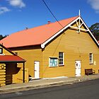 Community Hall at Central Tilba by Darren Stones