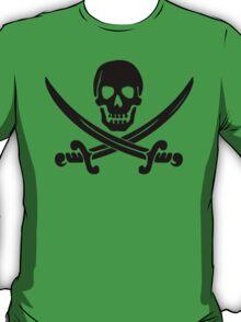 Pirate Logo (Black) T-Shirt