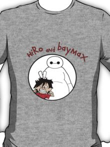 Hiro and Baymax T-Shirt