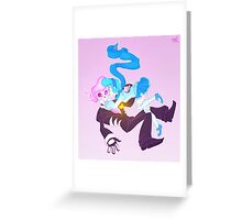 Mystery Skulls Ghost - Lewis and Vivi Greeting Card