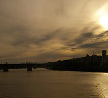 Willamette River Sunset by rdshaw