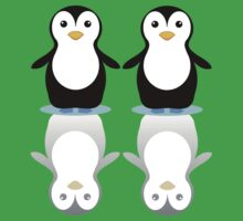 PENGUIN PAIR ON ICE Kids Clothes