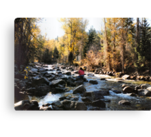 Ripplin' Waters Canvas Print