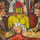 """Cezanne- I'm one of """"the card players"""" by Christopher Ripley"""