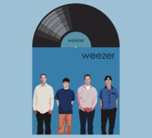 Weezer - Blue Album Kids Clothes