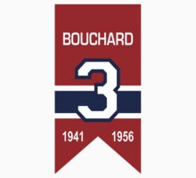 "Emile ""Butch"" Bouchard - retired jersey #3 Kids Clothes"