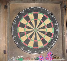 Dart Board by Johnnie
