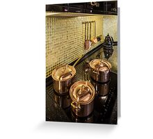luxury  Interior kitchen  Greeting Card