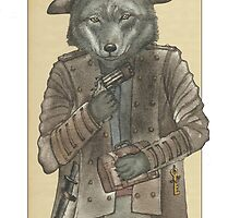 Pirate Wolf by felissimha