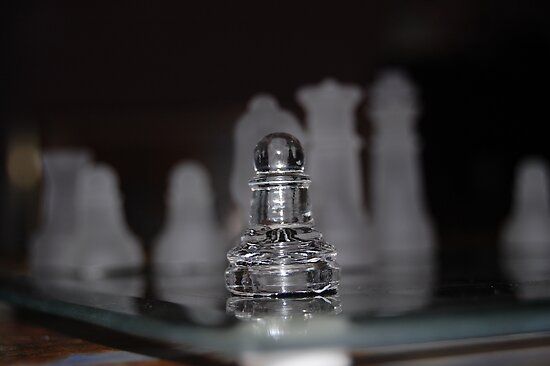 Chess Pieces by Elizabeth  Cortez