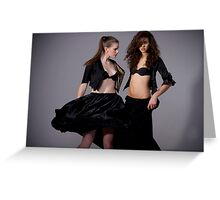 flaunt it Greeting Card