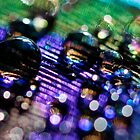 Rainbow Bokeh Bubbles by silverdew