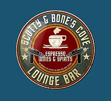 SCOTTY AND BONE'S COVE VINTAGE SIGN by karmadesigner
