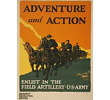 Adventure and Action (Reproduction) Photographic Print