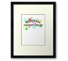 Greendale Community College - Paintball Framed Print