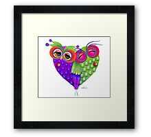 Owl´s love Framed Print