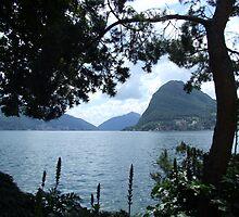 Lake Lugano by John Douglas