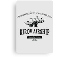 Kirov Airship Canvas Print